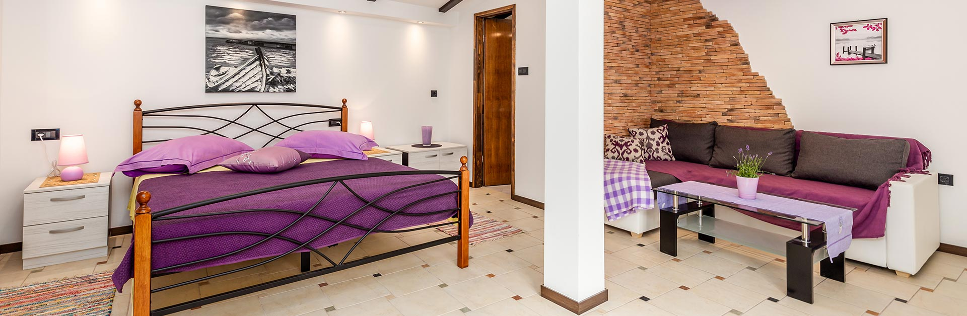 Apartmani Hrvatin - Studio apartman 1